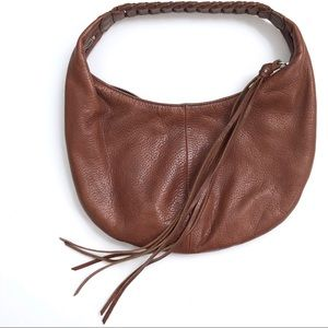 Banana Republic Leather Hobo Shoulder Bag Purse